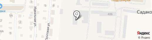 Вятстройокна на карте Садаковского