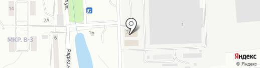 Августов на карте Жигулёвска