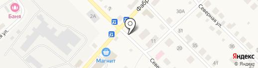 Камелёк на карте Ганино
