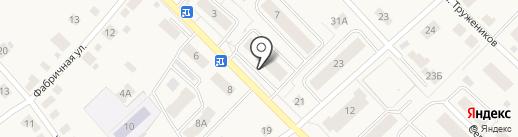Доверие, ЖСК на карте Ганино