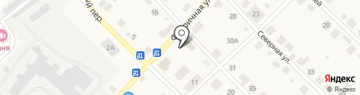 Отделение почтовой связи №29 на карте Ганино