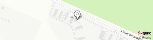 Промтэко на карте Кирова