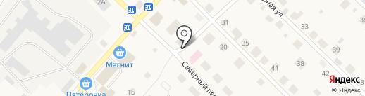 ДОМ ИнвестСтрой на карте Ганино