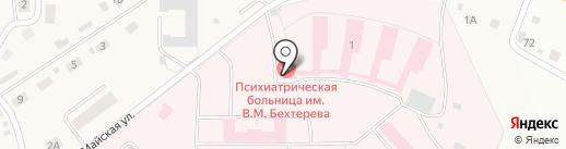 Банкомат, АКБ Вятка-Банк на карте Ганино