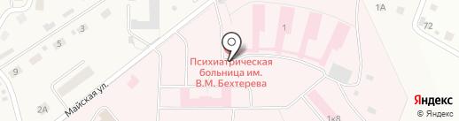Кировский государственный медицинский университет на карте Ганино