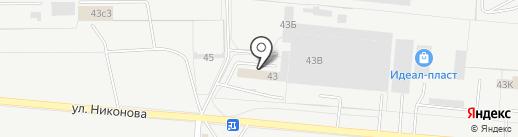 Фёдоровский блок на карте Тольятти