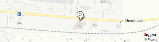 ПСМ на карте Тольятти