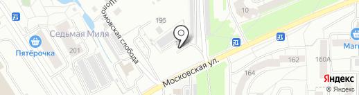 Шиномонтажная мастерская на карте Кирова