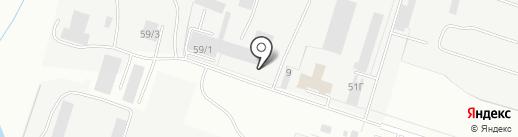 Стальной компонент на карте Кирова