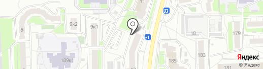 Малинки-Вечеринки на карте Кирова
