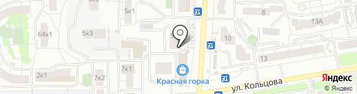 Магазин детской одежды и игрушек на карте Кирова