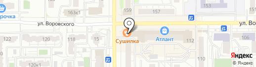 Банкомат, Банк ВТБ 24, ПАО на карте Кирова
