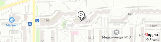 Сток-центр женской одежды на карте Кирова