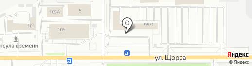 Клин-Сити на карте Кирова