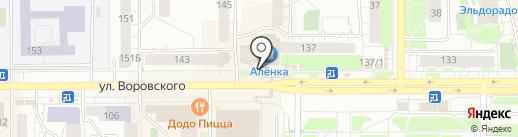 Максавит на карте Кирова