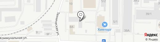 Техно на карте Кирова