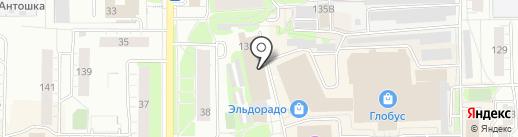 Полцены на карте Кирова