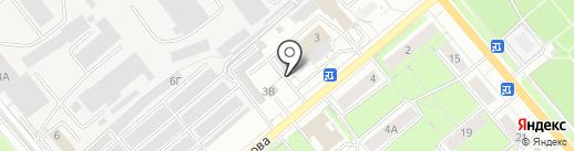 Авинел на карте Кирова