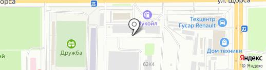 Кировский завод композитных материалов на карте Кирова