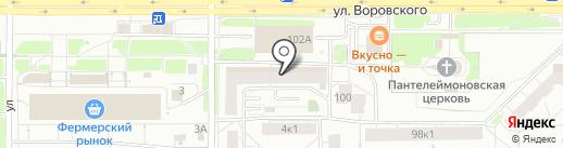 Снайпер на карте Кирова