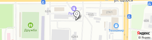 Ниро на карте Кирова
