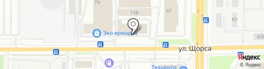 Много Мебели на карте Кирова