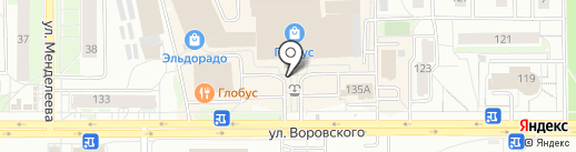 USB на карте Кирова