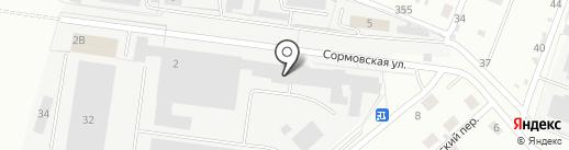 Первый Кузовной Центр на карте Кирова