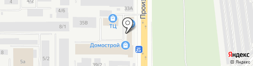 Форесттрак.ру на карте Кирова