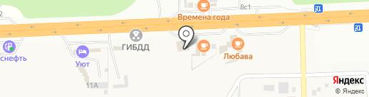 Ралина на карте Зеленовки