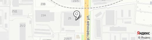 Центральная диспетчерская служба грузовиков на карте Кирова