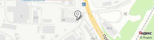 Транс-Холдинг на карте Кирова
