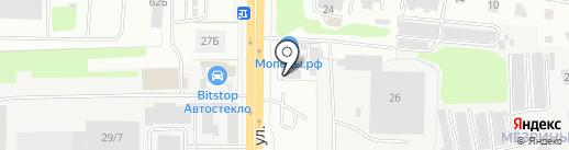 Параллель на карте Кирова