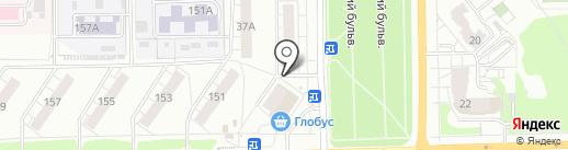 Маруся на карте Кирова