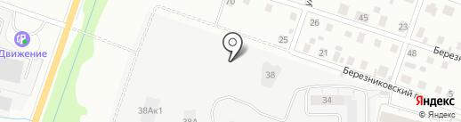 Тектон-квартал на карте Кирова