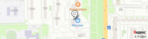 Русская дымка на карте Кирова