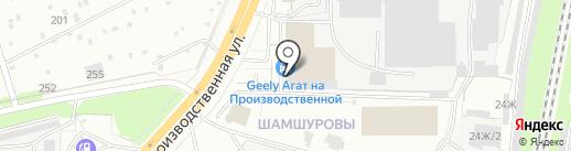 Лифан Центр Киров на карте Кирова