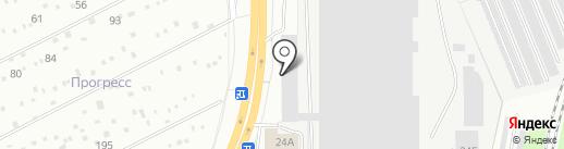 Веста на карте Кирова