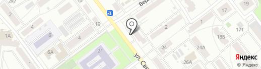 Октябрьская управляющая компания на карте Кирова