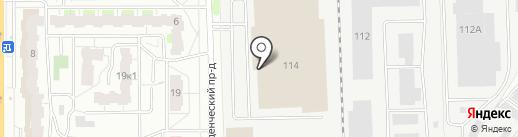 Платежный терминал, КБ Аксонбанк на карте Кирова