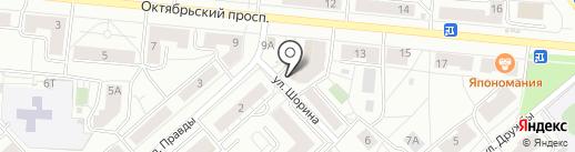 Вобла на карте Кирова
