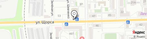 Два кулинара на карте Кирова