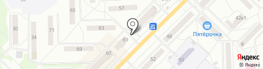 Магазин игрушек на карте Кирова