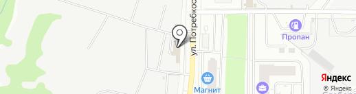 Трио на карте Кирова
