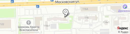 Номет на карте Кирова