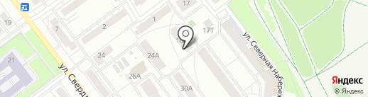 Априори на карте Кирова