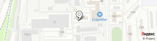 ПаЛакс на карте Кирова