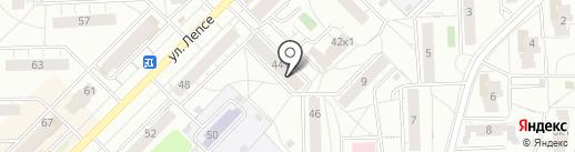Строимся на пять на карте Кирова