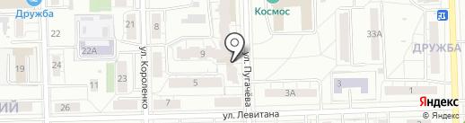Кулинария на Пугачева на карте Кирова
