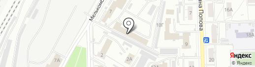 Palitra на карте Кирова